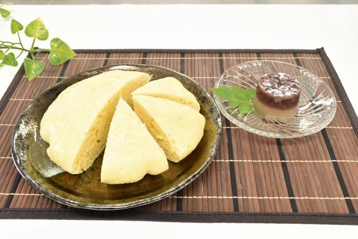 レシピ さっぱり水ようかん アレンジ簡単 特大蒸しパン 札幌市厚別区