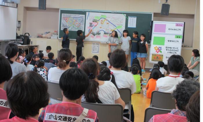 手稲西小学校で地域紹介マップ発表会/札幌市手稲区